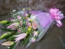 ピンク系花束★