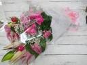 【花束】ピンク系ゴージャス花束