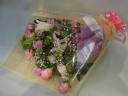 *季節のおすすめ花束【ピンク系】*