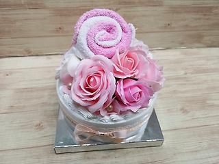 デコレーションケーキ(ピンク)