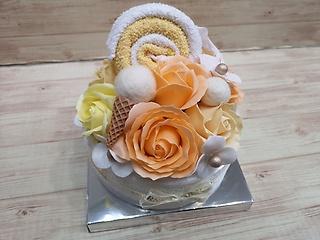デコレーションケーキ(オレンジ)