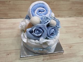 デコレーションケーキ(ブルー)