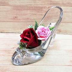 本物のガラスの靴です♪【レディローズ・R】