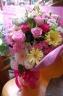 慶オリジナル花束ピンク