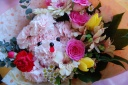 プードルの花束♪ラブリーピンク♪