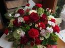 母の日★赤色アレンジメント