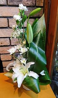 お供え花【マーブル】