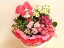 ★★ 母の日花鉢バスケット ★★ \(^-^)