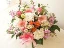 ピンク~ホワイトの春のやさしいグラデーション♪