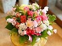 春のピンク系ラウンドアレンジ(*'ω' *)