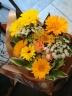 ガーベラのキュートなお花束☆