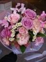 やわらかキュートピンクのお花束☆