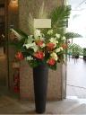 華麗なスタンド装花