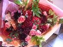 幸せ色いっぱいの花束