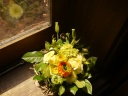 春のお花のアレンジメント