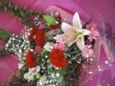 花束カーネーション