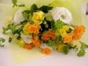 ビタミンカラーの花束4