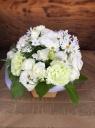 ペットに贈る花 ホワイト