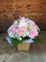 ペットに贈る花 ピンク