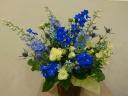 blue arrange style-M