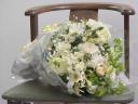 白いお花束