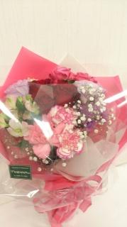 かわいい花束をあなたに・・・