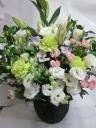 パステルカラーお供花
