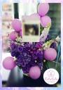 バルーン付き楽屋花