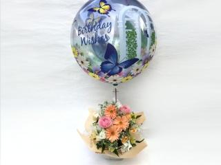 お誕生日バルーンアレンジ~バタフライ~