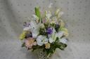 「故人を偲ぶお供え花」