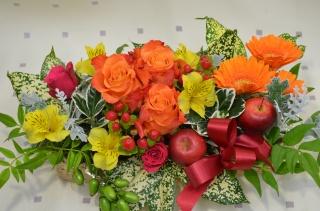 「イエローオレンジ系の濃い色」