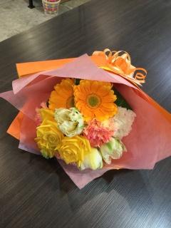 イエロー&オレンジ ビタミンカラーブーケ