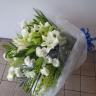 オリエンタルユリお供え花束