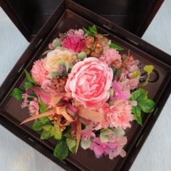 光触媒 ボックスフラワー(造花)