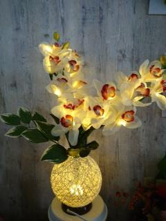 シンピジューム(造花) LEDライト
