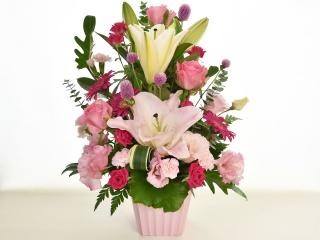 ピンクのグラデーションをプレゼントに♪