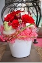 プリザーブドフラワー 赤バラ 母の日