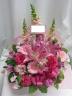 ラブリー・ピンク色のアレンジメント/AR50