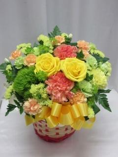 黄色のバラのアレンジメント*AR50