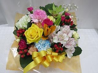 カラフルに!!お花いっぱいアレンジメントAR40