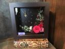 プリザーブド&造花の花時計