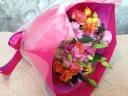 ミックスカラーのギフト花束(ブーケタイプ)