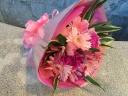 ピンクギフト花束(ブーケタイプ)