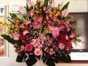 華やかな生花スタンド
