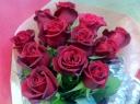 ダズンローズ12本の赤いバラ