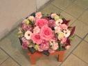 母へ、すこし奮発お花。