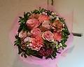 母の日ブーケ  上品ピンク