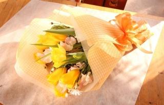 春の花・チューリップのBOUQET♪ イエロー