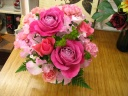 ロマンチックなバラのアレンジメント☆