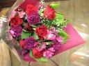 レッド、ピンクのpurityhi花束